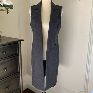 Trouve Wool Vest Coat